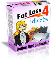 weight loss for idiots image